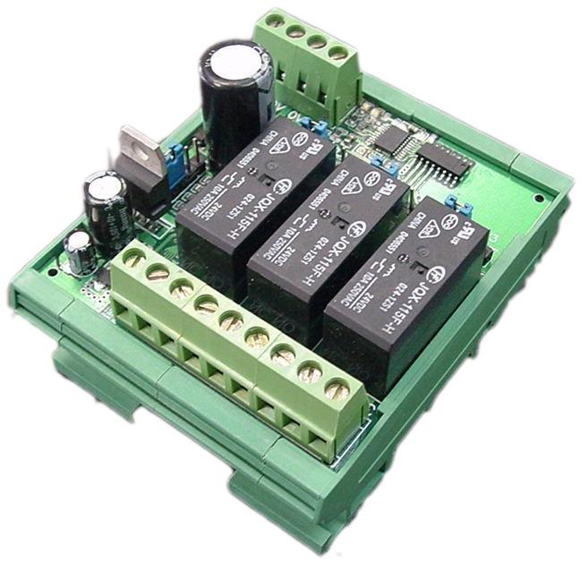 3继电器输出扩展模块
